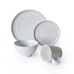 Over and Back® Centric 16-Piece Dinnerware Set in White