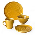 Over and Back® Centric 16-Piece Dinnerware Set in Yellow