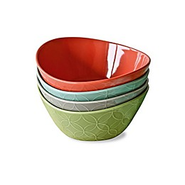Over and Back® Multicolor Grub Bowls (Set of 4)
