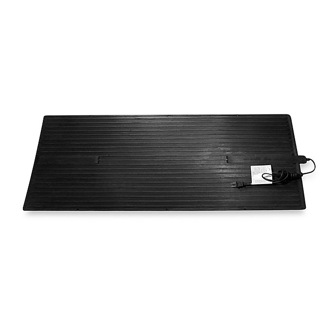 Alternate image 1 for Cozy Large Electric Foot Warmer Heated Floor Mat
