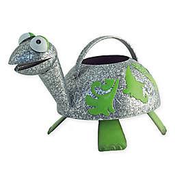 Boston International Donny Turtle Watering Can in Silver/Green