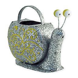 Boston International Snelly Snail Watering Can in Grey/Yellow