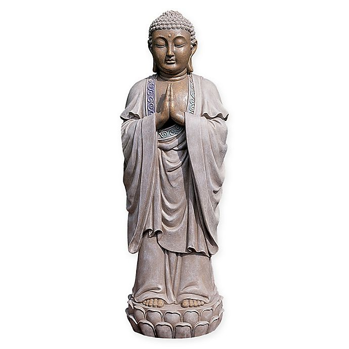 Alternate image 1 for Design Toscano The Bodh Gaya Buddha Asian-Inspired Statue