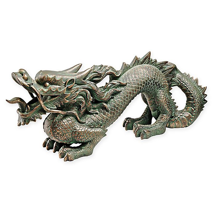 Alternate image 1 for Design TOSCANO® Asian Dragon of the Great Wall Statue in Bronze