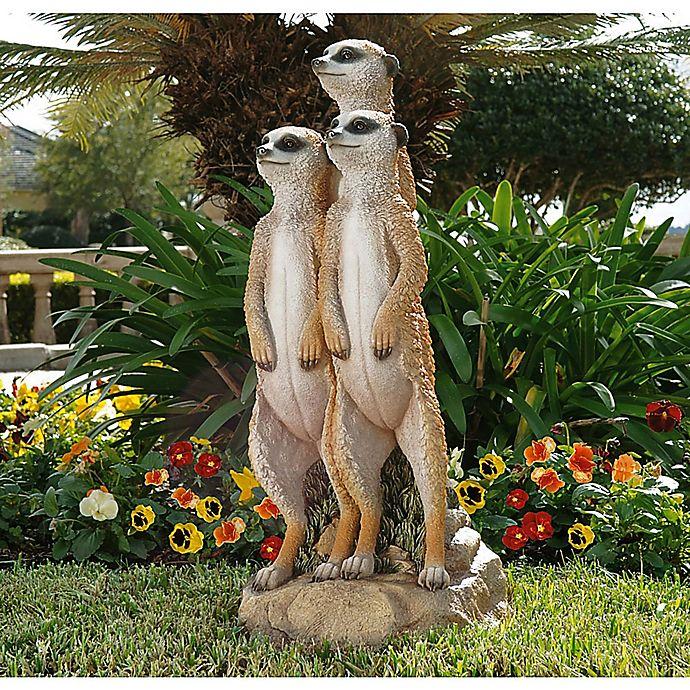 Alternate image 1 for The Meerkat Gang Sculpture