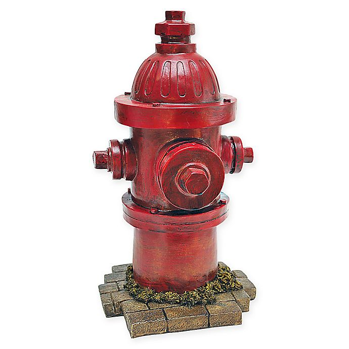 Alternate image 1 for Design Toscano  Dog's Second Best Friend Fire Hydrant Statue