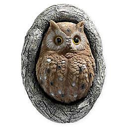 Design TOSCANO® Octavius Knothole Owl Tree Sculpture