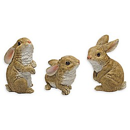 Design TOSCANO® The Bunny Den Sculptures (Set of 3)