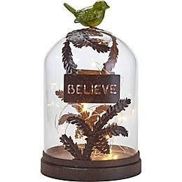 Precious Moments® Believe LED Terrarium