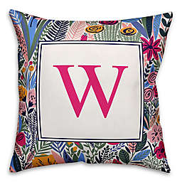 Designs Direct Funky Garden Indoor/Outdoor Square Throw Pillow