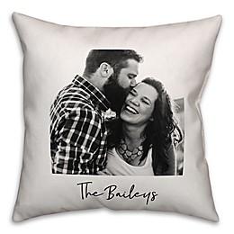 Designs Direct Photo Upload Indoor/Outdoor Square Pillow