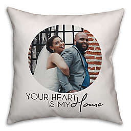 Designs Direct Heart My Home Indoor/Outdoor Square Pillow