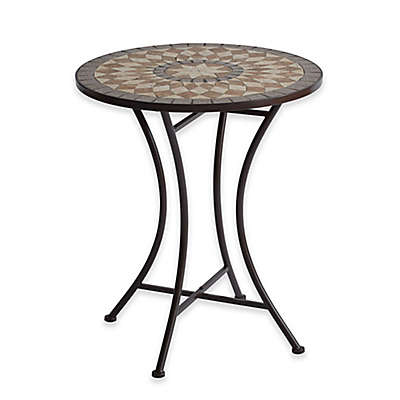 Mosaic Stone Bistro Table