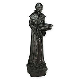 Northlight 24-Inch St. Francis of Assisi Bird Feeder