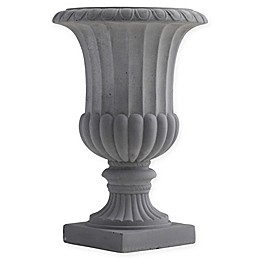 Nearly Natural Decorative Classic Urn in Grey