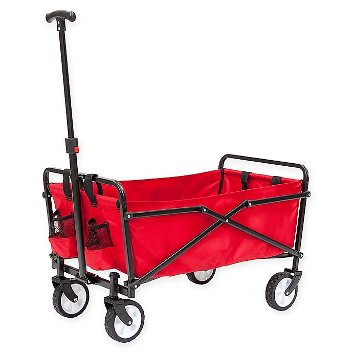 Alternate image 1 for Seina Compact Collapsible Wagon in Red