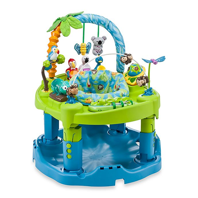 Alternate image 1 for Evenflo® ExerSaucer® Triple Fun™ Animal Planet Activity Learning Center™