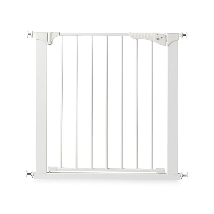 Alternate image 1 for KidCo® Gateway Pressure Mount Gate in White