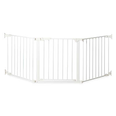 KidCo® Custom Fit Auto Close ConfigureGate in White