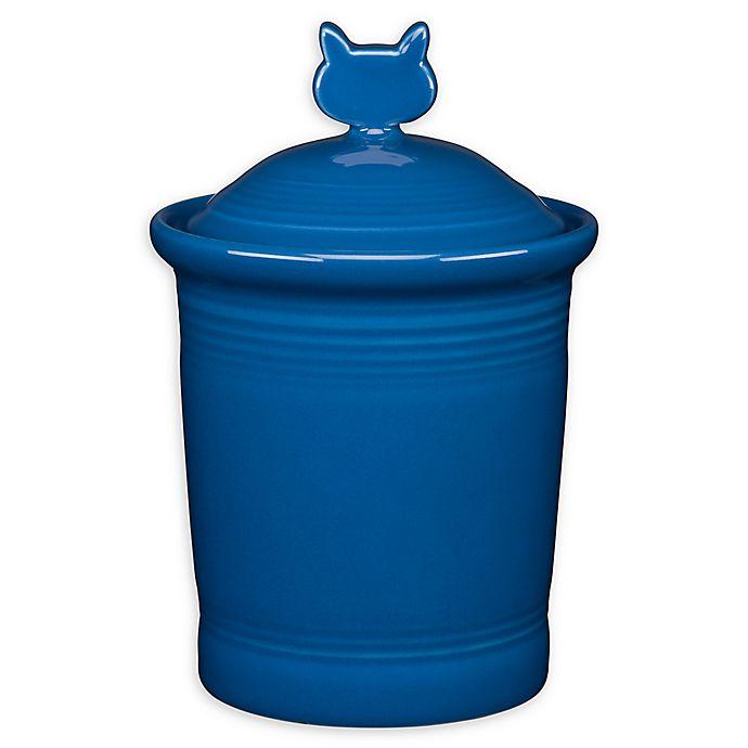 Alternate image 1 for Fiesta® Cat Treat Jar
