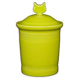 Fiesta® Cat Treat Jar in Lemon Grass