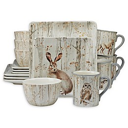 Certified International A Woodland Walk Dinnerware Collection