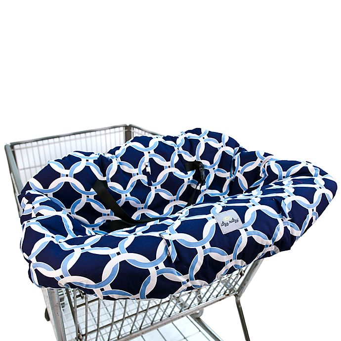 Swell Itzy Ritzy Ritzy Sitzy Shopping Cart High Chair Cover In Social Circle Blue Lamtechconsult Wood Chair Design Ideas Lamtechconsultcom