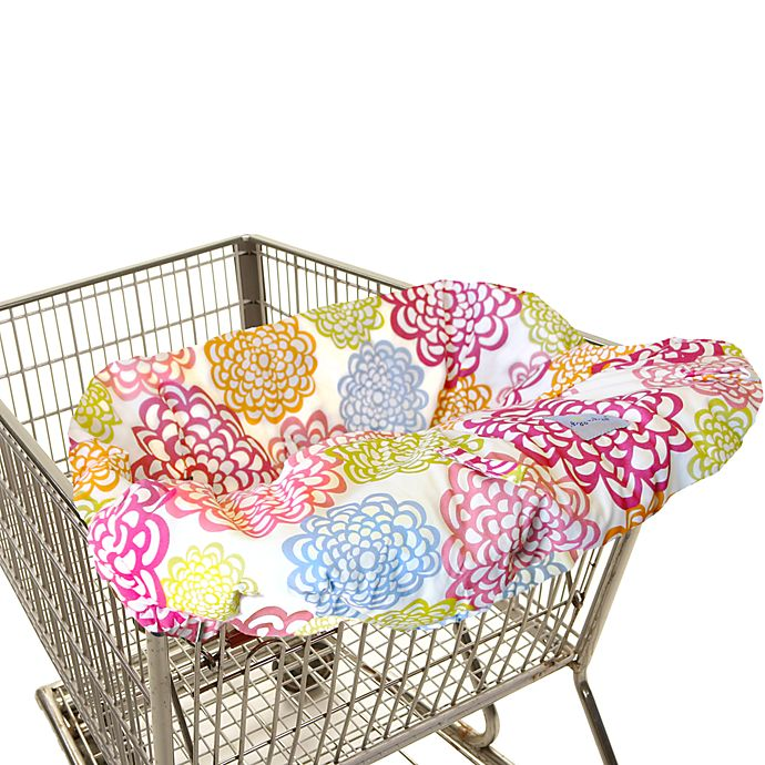 Alternate image 1 for Itzy Ritzy® Ritzy Sitzy™ Shopping Cart & High Chair Cover in Fresh Bloom