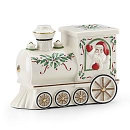 Lenox® Hosting the Holidays™ Santa Train Cookie Jar