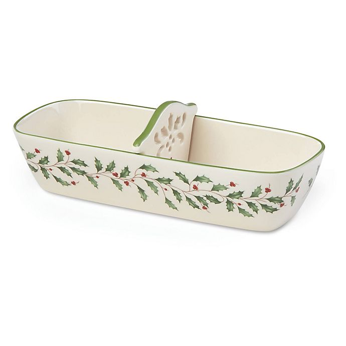 Alternate image 1 for Lenox® Holiday™ Cracker Basket
