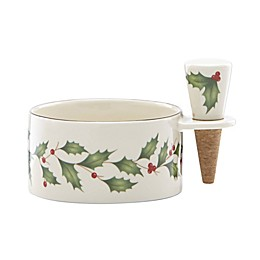 Lenox® Holiday™ Wine Coaster and Stopper Set