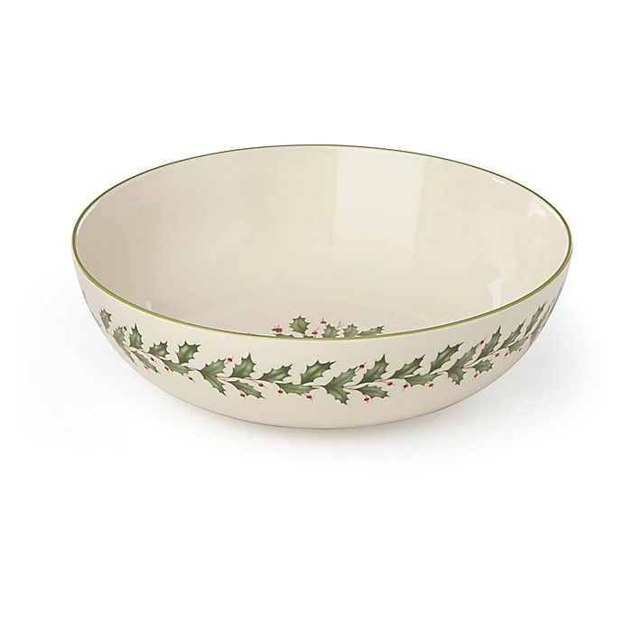 Alternate image 1 for Lenox® Holiday™ Pasta Serving Bowl