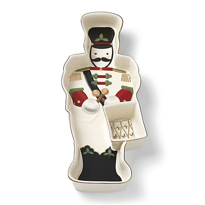 Alternate image 1 for Lenox® Holiday™ Entertaining Toy Soldier Chip and Dip
