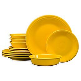 Fiesta® 12-Piece Classic Dinnerware Set in Daffodil