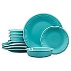 Fiesta® 12-Piece Classic Dinnerware Set in Turquoise