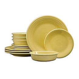 Fiesta® 12-Piece Classic Dinnerware Set in Sunflower