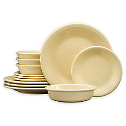 Fiesta® 12-Piece Classic Dinnerware Set in Ivory