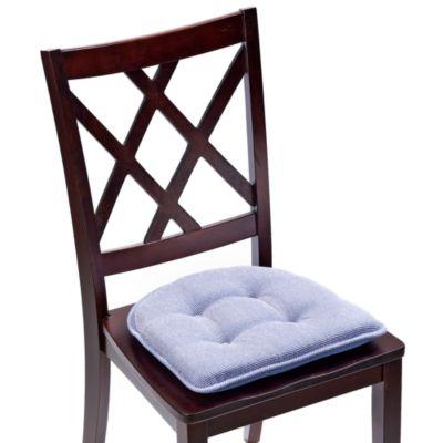 Klear Vu Tufted Saturn Gripper 174 Chair Pad In Wedgewood