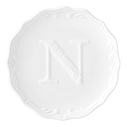 Lenox® Initially Mine Monogrammed Block Letter Tidbit Plate