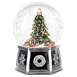 Spode Christmas Tree Musical Snow Globe
