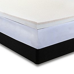 Independent Sleep Copper Infused Combination Memory Foam Mattress Topper
