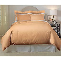 Pointehaven 620-Thread-Count Full/Queen Duvet Cover Set in Coffee