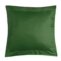 Pointehaven 620-Thread-Count European Pillow Sham in Moss