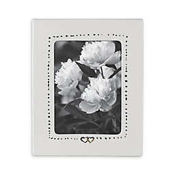 kate spade new york Bridal Party™ 5-Inch x 7-Inch Picture Frame in White