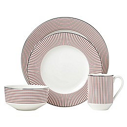 kate spade new york Laurel Street™ Red 4-Piece Place Setting