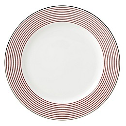 kate spade new york Laurel Street™ Red Dinner Plate