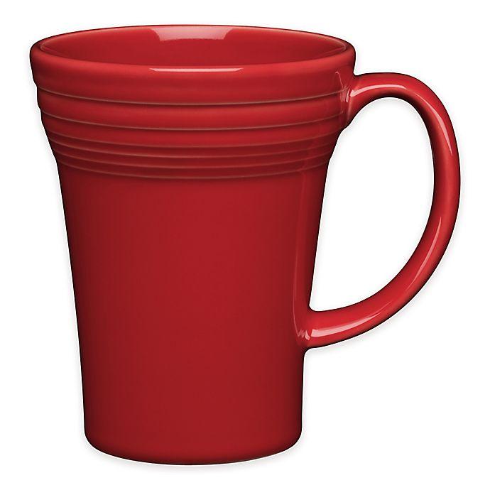 Alternate image 1 for Fiesta® Bistro Latte Mug in Scarlet