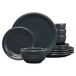 Fiesta® 12-Piece Bistro Dinnerware Set in Slate