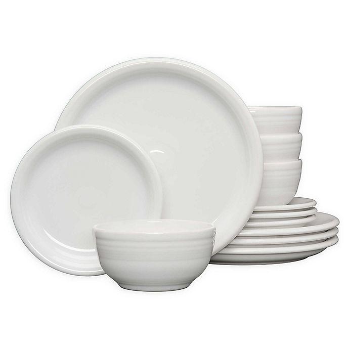 Alternate image 1 for Fiesta® 12-Piece Bistro Dinnerware Set