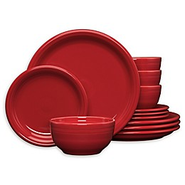 Fiesta® Rustic Harvest 12-Piece Bistro Dinnerware Set